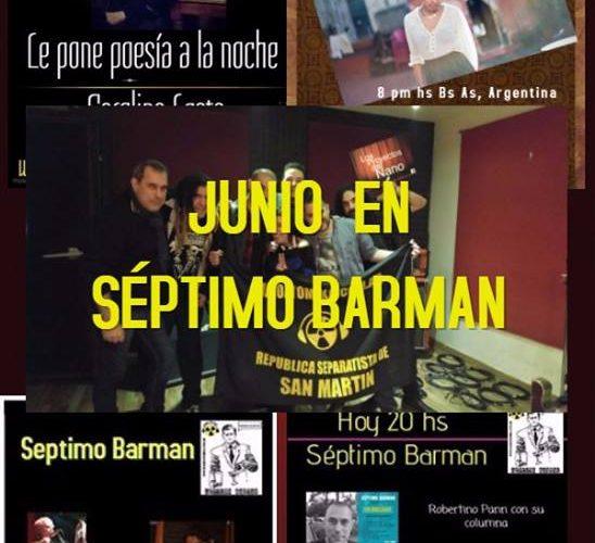 Así paso Junio en Séptimo Barman, • Estuvimos charlando sobre con John Martinez Gonzales y Fiorella Terrazas desde Perú sobre poesía, proyectos y las elecciones presidenciales . • charlamos desde […]