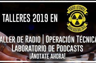 talleres de Radio Atomika