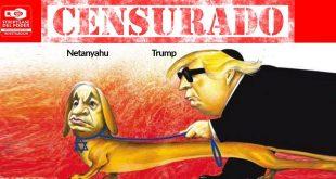 censura al NEW YORK TIMES por parte de EEUU e Israel